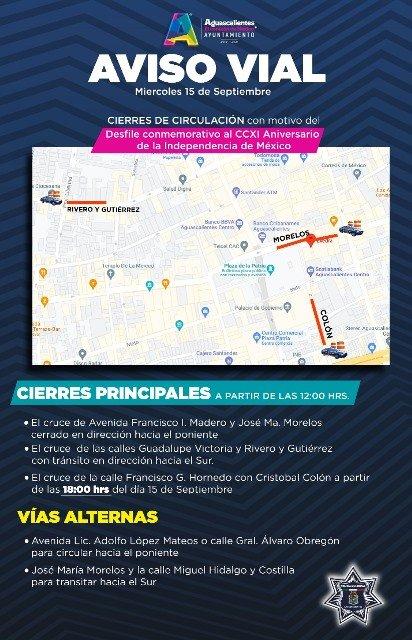 ¡Anuncia Seguridad Pública Municipal operativo especial por fiestas patrias!