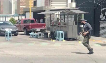 ¡Murió el hombre baleado en un puesto de tacos en Aguascalientes!