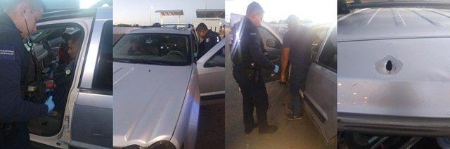 ¡Familia de Zacatecas fue atacada a balazos en Jalisco y auxiliada en Aguascalientes!