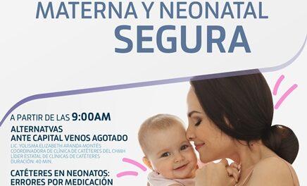 ¡Ofrece CHMH capacitación a personal médico en cuidados neonatales!