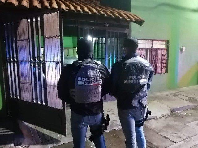 """¡Catearon un domicilio en Aguascalientes y aseguraron """"crystal"""" y marihuana!"""
