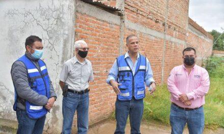 ¡Continúa en el Municipio de Jesús María la entrega de obras pluviales!