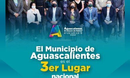 ¡Destaca el Municipio de Aguascalientes en transparencia y rendición de cuentas!