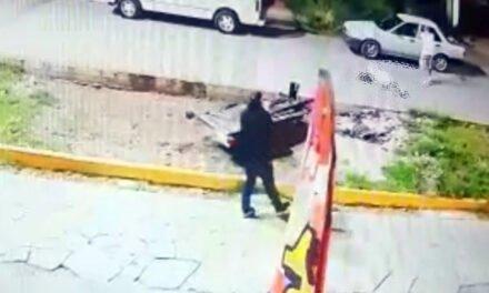 VIDEO: Dos sicarios ejecutaron a sangre fría a 3 hombres en Guadalupe