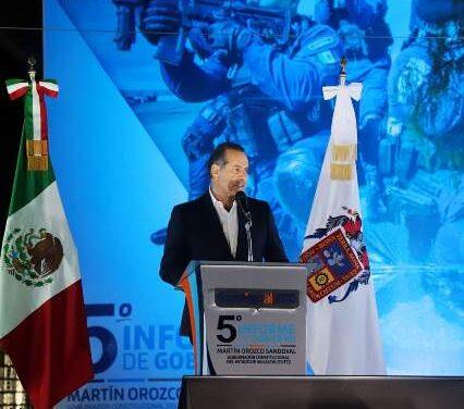 ¡En seguridad pública este gobierno le cumple a las familias de Aguascalientes: MOS!