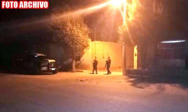 ¡Ejecutaron a un hombre con rifles de asalto en Calera!