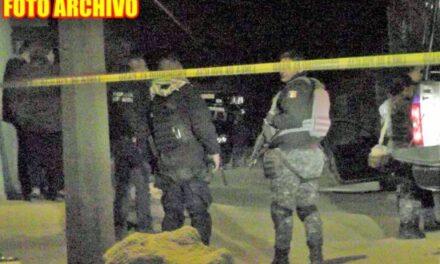 ¡Ejecutaron a una persona y dañaron a balazos una casa y un auto en Guadalupe!