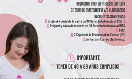 ¡Facilita el DIF de Jesús María mastografías para mujeres mayores de 40 años!