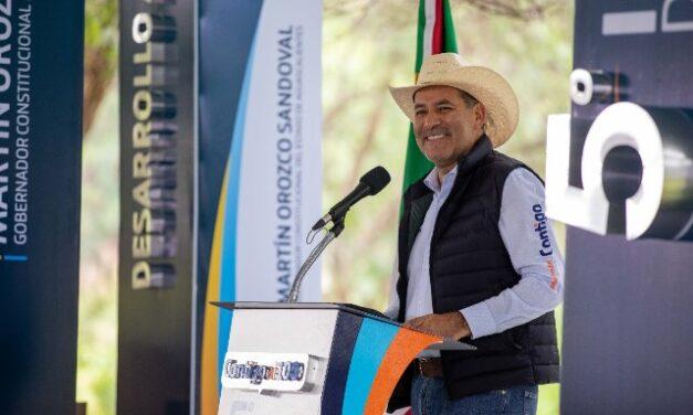¡Hoy el campo de Aguascalientes es más fuerte que nunca: Martín Orozco!
