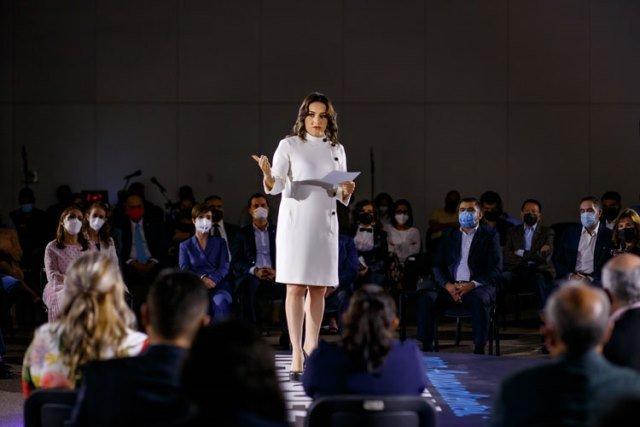 ¡Destaca Martha Márquez su trabajo en el Senado por tres años en salud y economía de Aguascalientes!