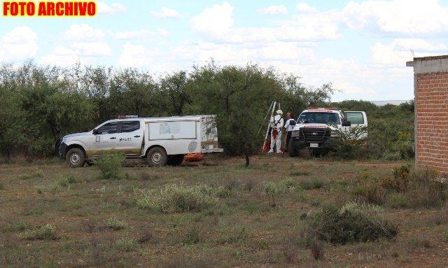 ¡Joven reportado como desaparecido fue hallado muerto dentro de un pozo en Guadalupe!