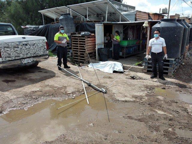 ¡Hombre murió electrocutado en Jesús María, Aguascalientes!