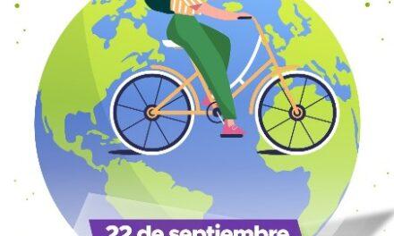 ¡Municipio invita a participar en rodada con motivo del Día Mundial sin Auto!