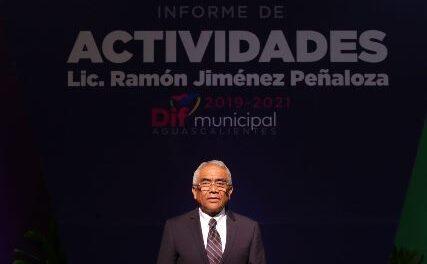 ¡Ramón Jiménez Peñaloza entrega buenas cuentas al frente del DIF Municipal!