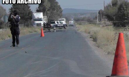 ¡Un muerto y varios lesionados tras fuerte accidente en Sombrerete!