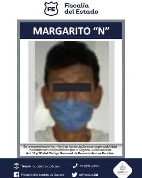 ¡Vincularon a proceso a sujeto por abuso sexual infantil de una menor de edad en Unión de San Antonio!