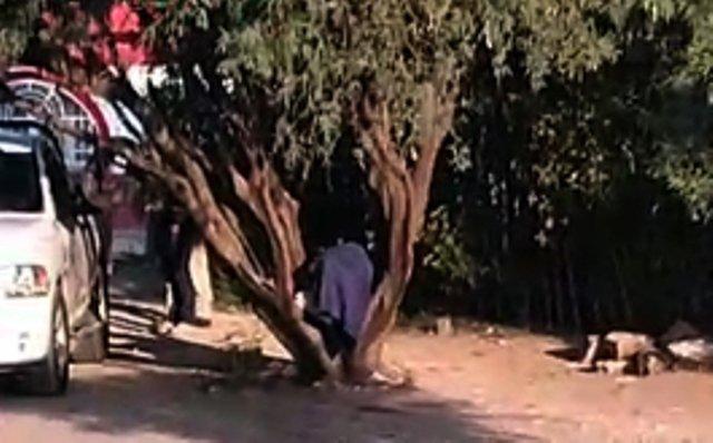 ¡Hallaron a una persona ejecutada y encobijada en Santiaguillo, Fresnillo!