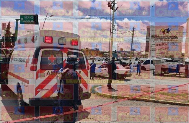 ¡Ejecutaron a un taxista y lesionaron a una pasajera en El Olivar en Fresnillo!