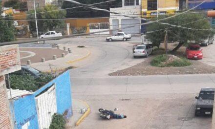 ¡Ejecutaron a una pareja de motociclistas en Guadalupe!