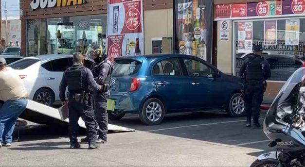 """¡Aseguraron auto utilizado en la ejecución de """"El Tereto"""" en Aguascalientes!"""