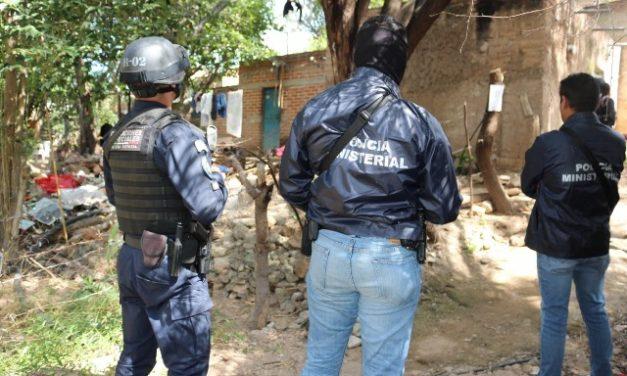 ¡Nuevo golpe al narcotráfico al detectar y asegurar narco-laboratorio en Calvillo!