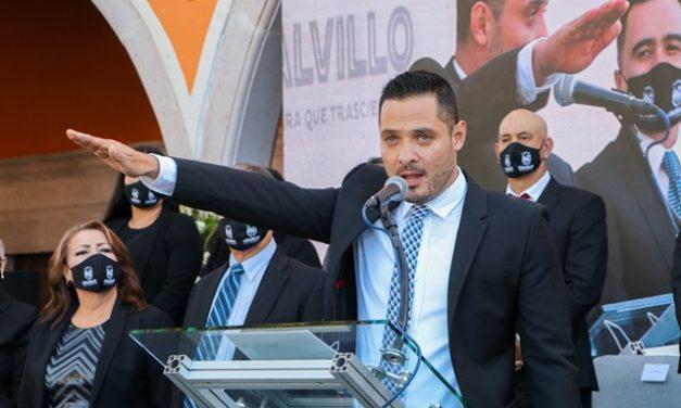 ¡Sin barreras entre sociedad y gobierno, haciendo equipo vamos a construir este proyecto llamado Calvillo: Daniel Romo Urrutia!