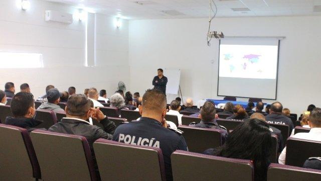 ¡Capacita ISSEA a 400 policías municipales en atención psicológica!