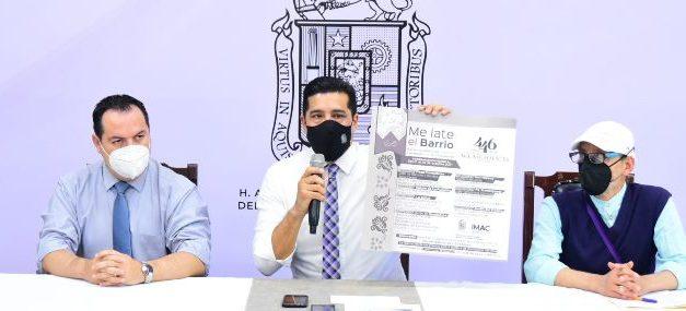 ¡Recursos del festival de la ciudad se destinarán a servicios públicos y rehabilitación de vialidades: Leonardo Montañez!