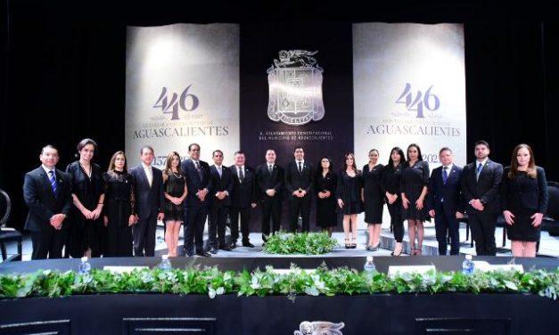 ¡En el 446 aniversario de la ciudad, llama Leonardo Montañez a trabajar en unidad por Aguascalientes!