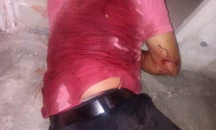 ¡Hombre fue lesionado de nueve puñaladas en Aguascalientes!