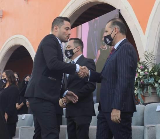 ¡Acompaña Martín Orozco a nuevo presidente de Calvillo!