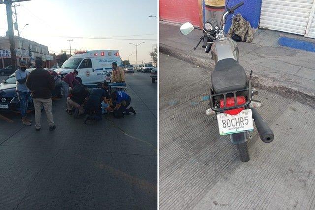 ¡Mujer murió tras ser atropellada por un motociclista en Aguascalientes!