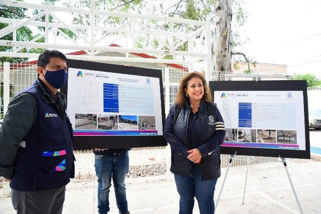 ¡Municipio entrega rehabilitación integral del parque de la colonia La Soledad!