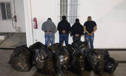 "¡Policías municipales de Aguascalientes frustraron robo a farmacia y detuvieron a 4 ""chilangos""!"