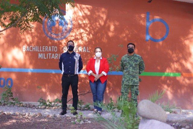 ¡Reconoce Municipio de Aguascalientes modelo educativo del bachillerato militarizado!